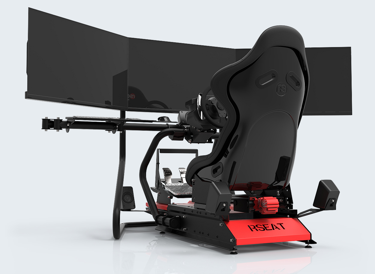 RSEAT S1 Black/Red - RSEAT Russia Gaming Seats